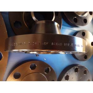 Приварной фланец с буртиком ASTM A105, фланцевый конец торцом вверх, DN65, 5,16мм