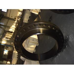 Приварной фланец с буртиком, DN900, 15,88мм, сажевое защитное покрытие