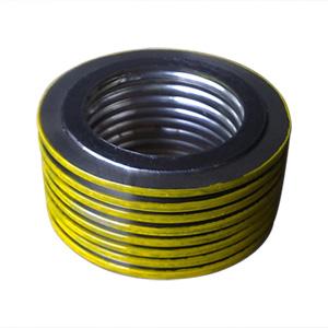 Cпирально-навитая прокладка, с внутренним и внешним кольцом