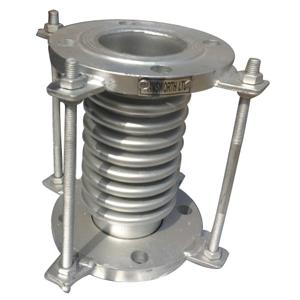 Гибкое соединение, нержавеющая сталь, фланцевый конец торцом вверх