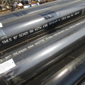Труба Бесшовная из Углеродистой Стали, DN 250 mm, 6M