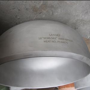 Крышка Бесшовной Трубы, Стыковая Сварка, DN450 mm