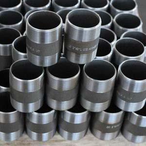 Ниппель бесшовный трубный, ASTM A106 GR.B, 3,91/5,49мм