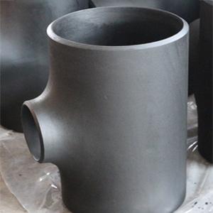 Бесшовный Переходный Тройник, ASTM A234 WPB, DN200 x DN100 mm