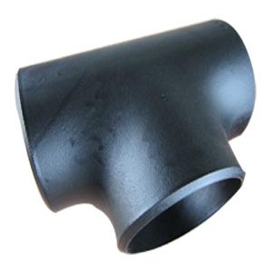 Тройник, ASTM A234 WPB, ASME/ANSI B16.9, ГОСТ, DN200 X DN200 mm, 18.26 mm