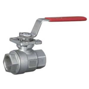 2-ПК винтовой шаровой клапан, ASTM A216 WCB, PN68