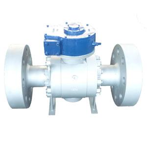 Неполнопроходной шаровой клапан ASTM A105N, DN150x100, PN420
