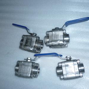 Полнопроходной шаровой клапан, A182 F51-UNS, PN250, DN15