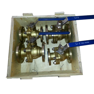 Полнопроходной шаровой клапан из алюминиевой бронзы, PN20