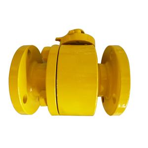 Полнопроходной шаровой клапан с поплавковым цельным шаром