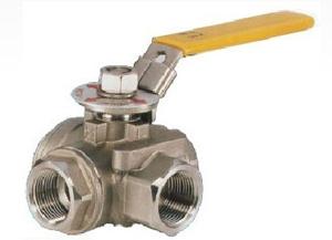 Шаравой клапан с трубной резьбой, CF8, DN25, PN100