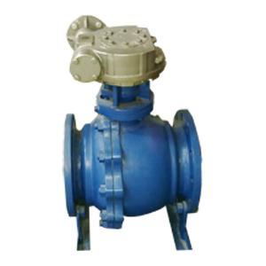 Шаровой клапан с электрическим приводом, A216 WCB, PN50, DN150