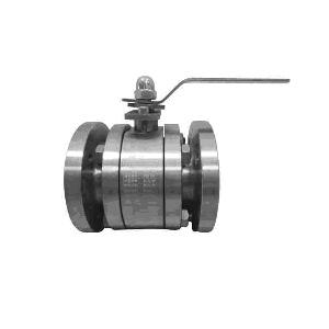 Шаровой клапан с керамическим плавающим шаром