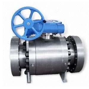 Шаровой клапан с крышкой на болтах ASTM A105, PN100, DN150
