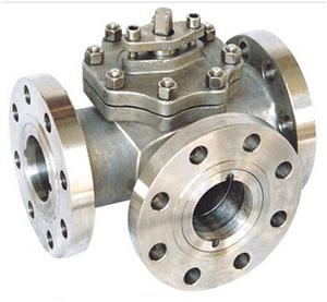 Трехходовой шаровой клапан, литой, PN150, DN25, WCB