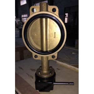 Клапан-бабочка из Алюминиевой Бронзы C95400,150 LB, DN200