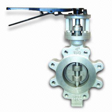 Клапан бабочка из легированной стали, PN0.1 to PN6.4MPa