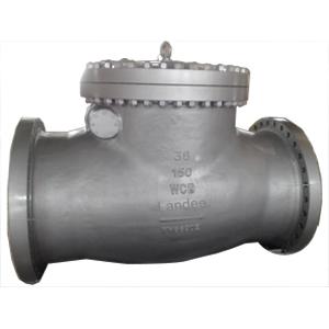 Обратный клапан ASTM A216 WCB, фланцевый соед.выступ