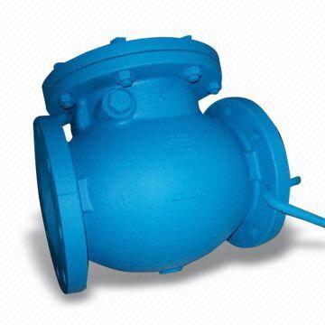 Обратный клапан из чугуна, ANSI125/150, DIN2501 PN10/PN16,  JIS10K