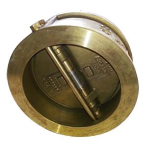 Запорный клапан с двойной пластиной ASTM B148, DN200, PN20