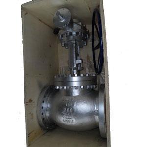 Фланцевый шаровой затвор из литой стали A216 WCB