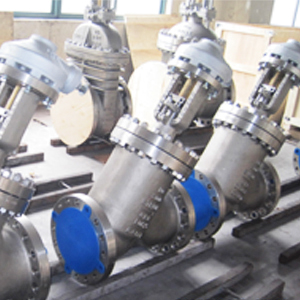 Y-тип шаровой затвор ASTM A351 CF8 , DN250, PN50, соед.выступ