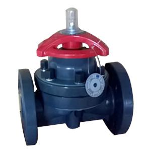 Мембранный клапан из углеродистой стали, PN20