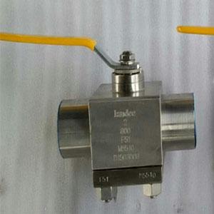 Двойной балансировочный клапан со смазкой,ручной
