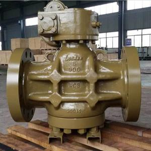 Полнопроходной пробковый кран, ASTM A216, PN150, DN200