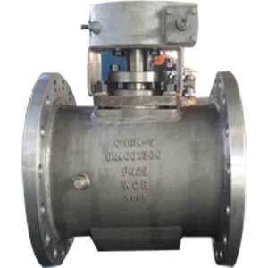Пробковый кран ASTM A216 WCB, DN300,соединительный выступ