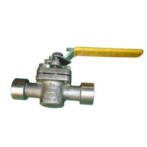 Пробковый кран бессмазочный MONEL ASTM A494 M35-1, API 6D