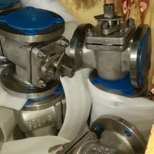 Стальной пробковый кран ASTM A995 4A, DN80mm, PN20, API 6D