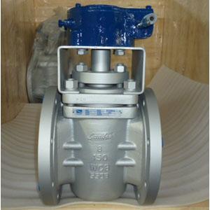 Управляемый пробковый кран, A216 WCB, DN200 mm, 150LB