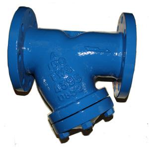 Чугунный Y-фильтр, ASTM A395, покрытие монель, DN100, PN20