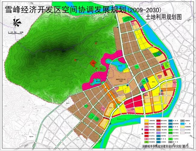 雪峰经济开发区空间协调发展规划