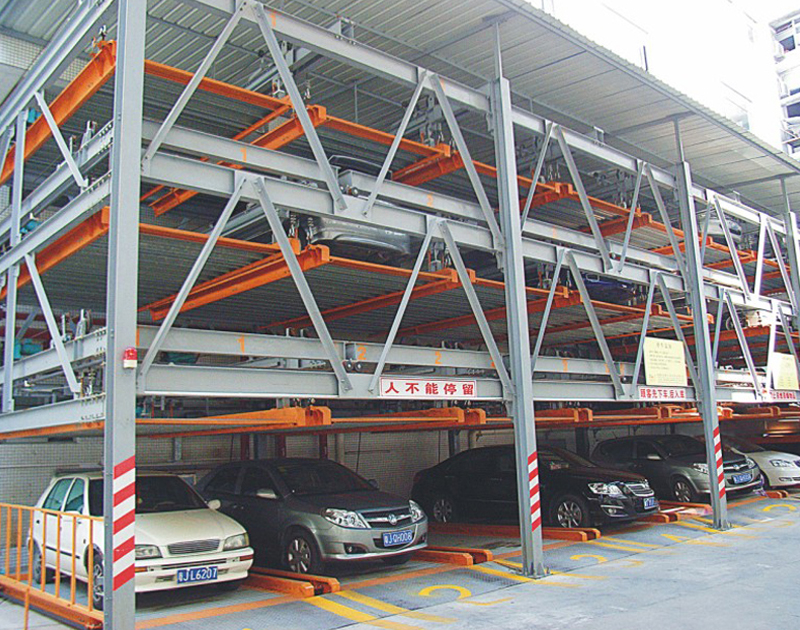 轴承用于机械停车库