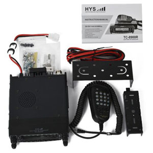 Quad Band Mobile FM Transceiver 1TC-8900R