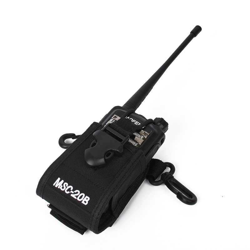 Mufti-Functional Nylon Two Way Radio Case Bag MSC-20B