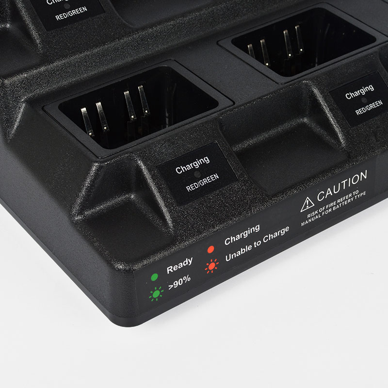 Multiple 8 Units Li-ion Battery Desk Charger CP328-8