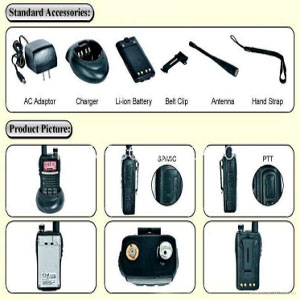 FM Two Way Radio TC-6100PLUS