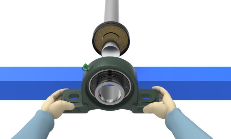 Install bearing unit