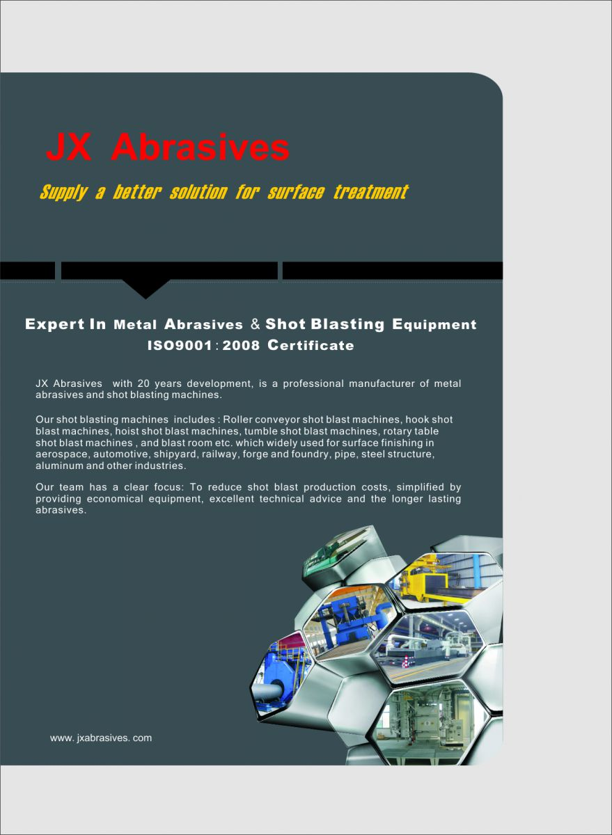 JX Abrasives Supplies A Better Solution For Surface Treatment