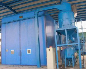 Design Principles and Features of Blasting Room