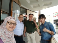 JX Company Welcomed Indonesian Clients for Visit