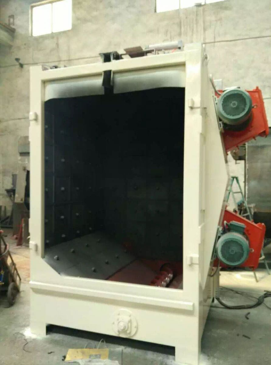 the-hook-shot-blasting-machine-is-prepared-to-ship