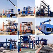 Installation of Automatic Sheet Metal Shot Blasting Machines
