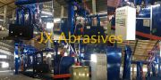 JX Abrasives Has Finished the Installation of Plate & Structure Cleaning Shot Blasting Machines