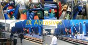 JX Abrasives Shot Blasting Machine for the Shipyard Industries