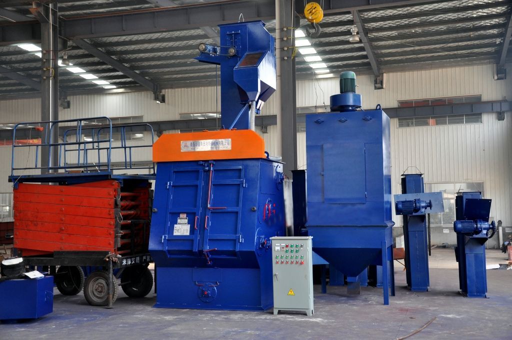 How to Select Shot Blasting Machine for Different Workpieces?