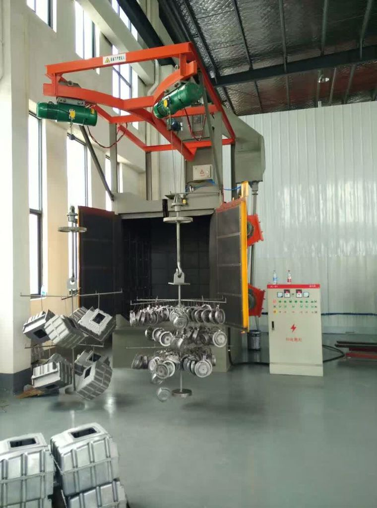 JX Hook Type Shot Blasting Machine Installation Case